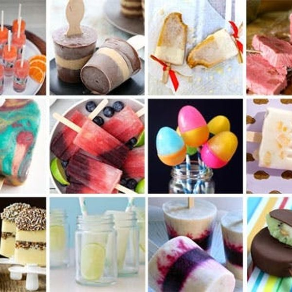Cool Down with 12 Summery Pops and Popsicles