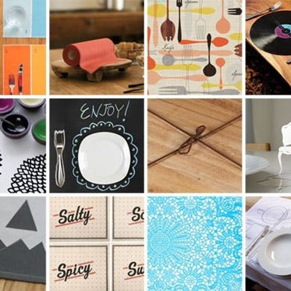 12 Practical & Pretty Placemats
