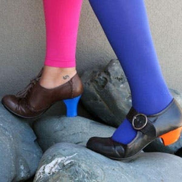 How to Color Block Your Heels