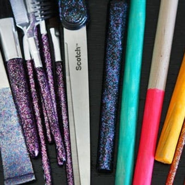 Use Nail Polish to Add Color to Your Workspace