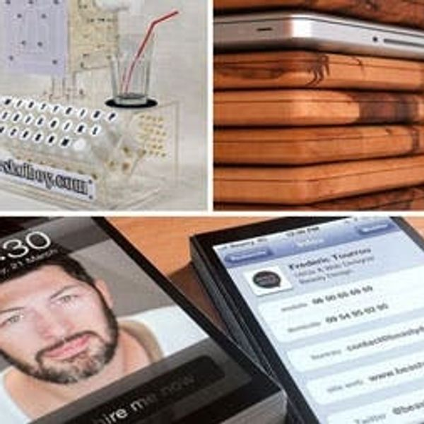 The BritList: A Keyboard That Makes Drinks, iPhone Business Cards & More