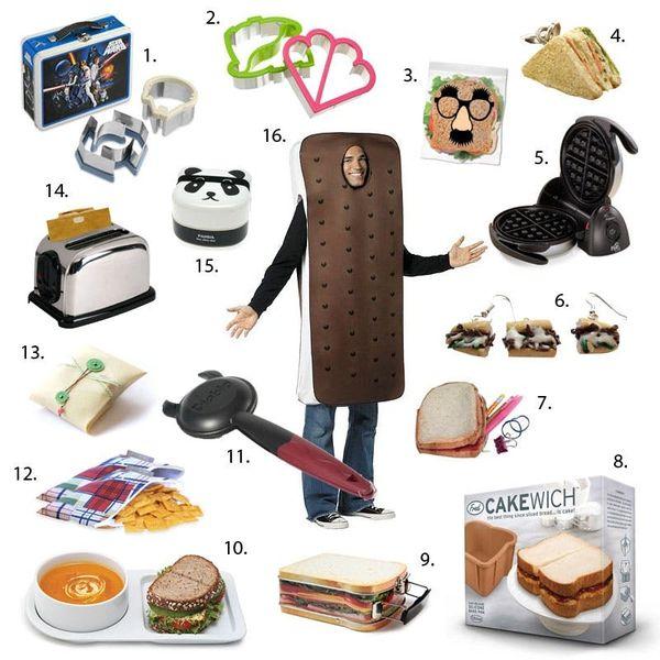 16 Pieces of Silly Sandwichery