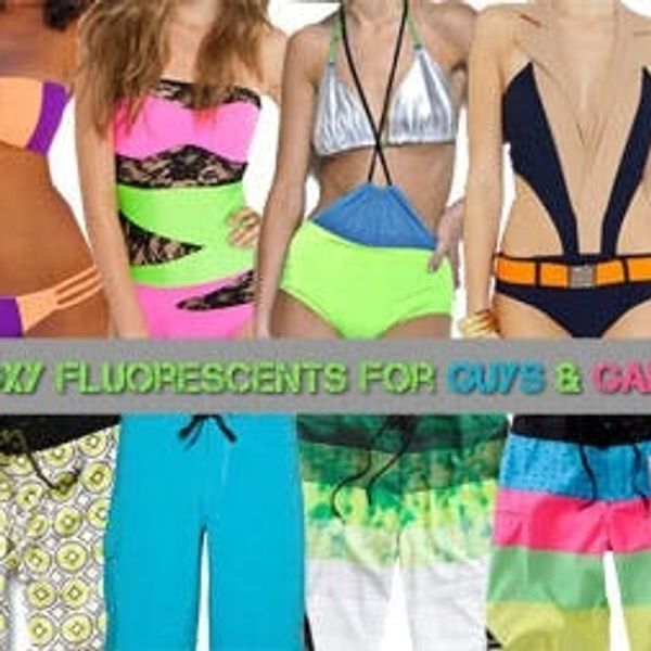 Foxy Fluorescents for Guys & Gals