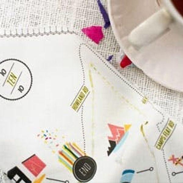 Create Custom Wedding Fabric with Spoonflower