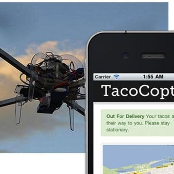 Is TacoCopter the Future of Food Delivery?