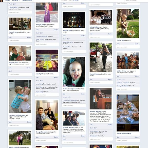 Friendsheet is a Pinterest-Like Way to Browse Your Friends' Facebook Photos