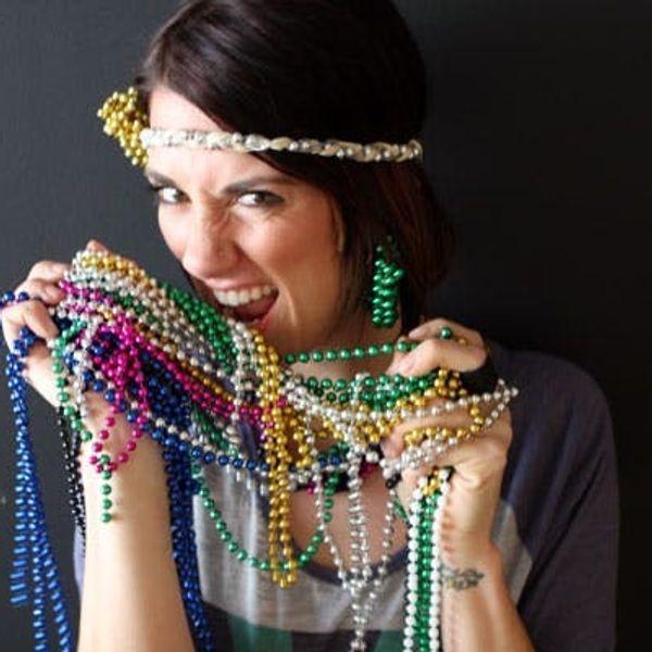 DIY Mardi Gras Accessories You'll Actually Wear