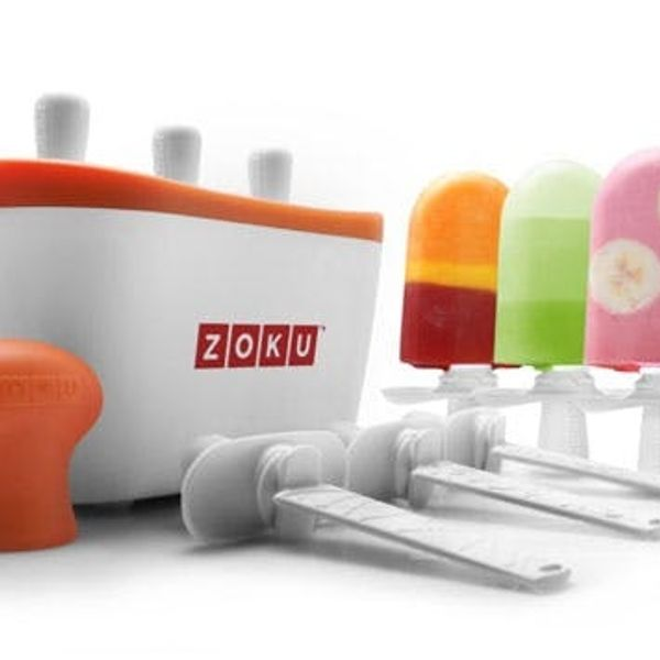 Colorful Gatorade Pops with the Zoku Quick Pop Maker