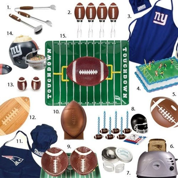 15 Festive Finds for Football Foodies