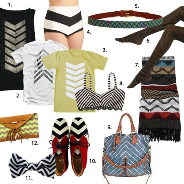 12 Chic Chevron Wearables
