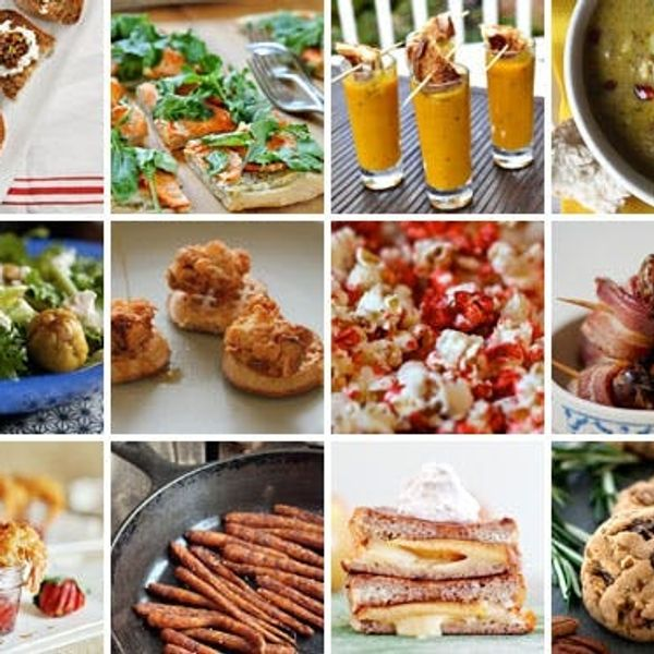 12 Sweet and Savory Starters