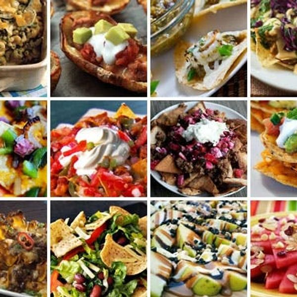 12 Playful Nacho Recipes Perfect for Playoffs