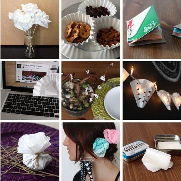 15 Ways To Repurpose Coffee Filters