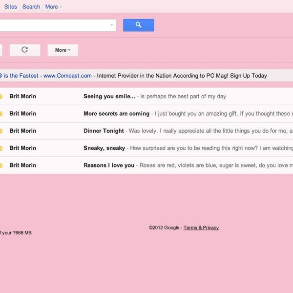 A Creative Way To Use Gmail To Send Valentine's Day Cards