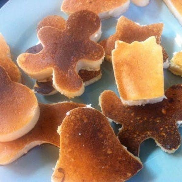 Cookie Cutter Breakfast Cakes