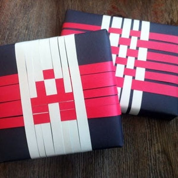 12 Days Of Wrapping: Pixel Weave