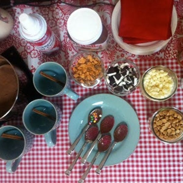 Super Sweet Hot Chocolate Bar