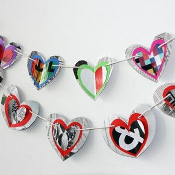 Super Simple Valentine's Day Bunting