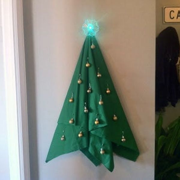 How To Make A Non-Tree Christmas Tree
