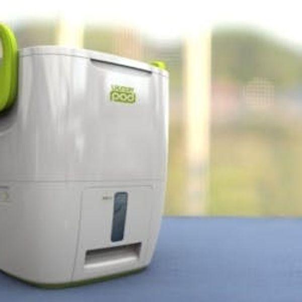 The Laundry POD: A Portable Mini Washing Machine