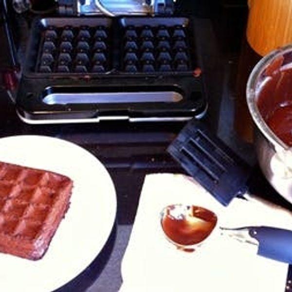 Pumpkin Brownie Waffles: A Dessert Ready In 5 Minutes