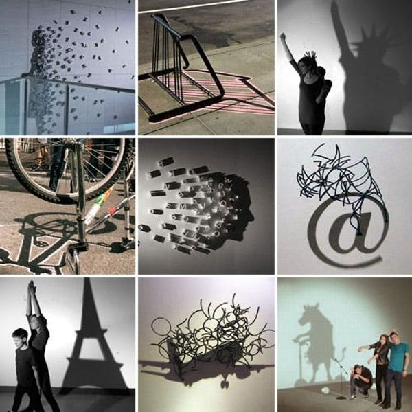 Will The Groundhog See His Shadow? 9 Works of Shadow Art