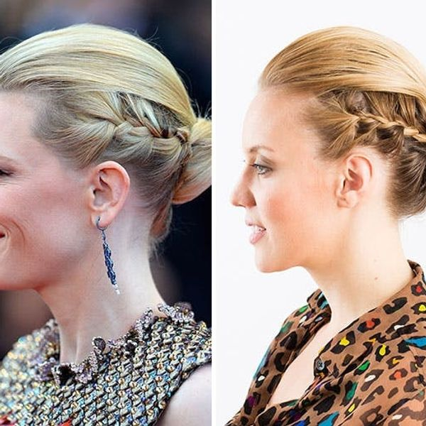 Get the Look: Cate Blanchett's Stunning Braided Chignon