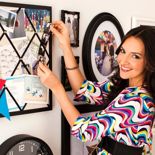 Check Out Brit's Modern Salon Wall + See How to Create One Yourself!