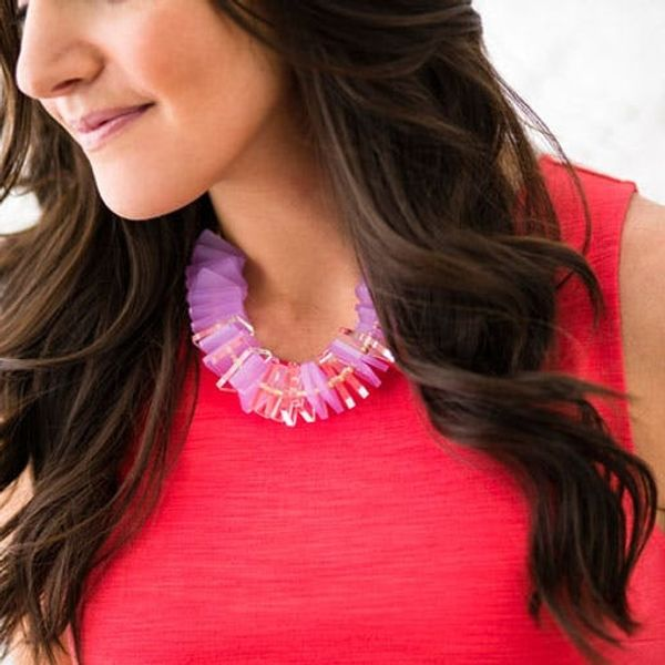 New in the Shop: Laser Cut Statement Necklace Kits for $25!
