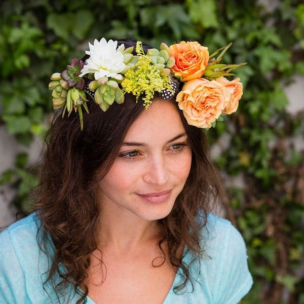 Summer Beauty: How to Make a Succulent Flower Crown
