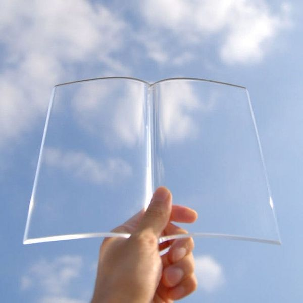 """This Acrylic """"Book"""" Might Be the Most Beautiful Bookmark Ever"""
