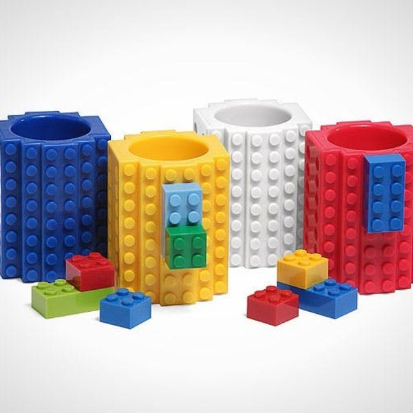 Bring Back the Block Party With These LEGO Shot Glasses