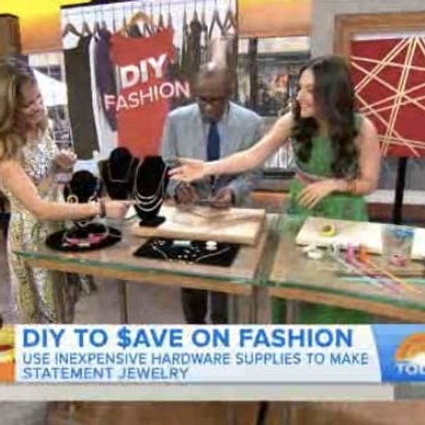 As Seen on the Today Show: DIY Projects That Can Save You Big Bucks