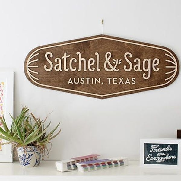 Meet the Maker: Gerren + Morgana Lamson of Satchel & Sage