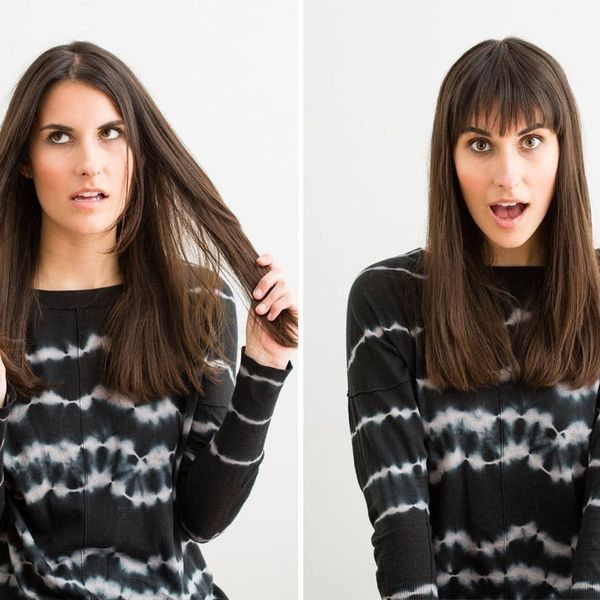 The Foolproof Guide to Cutting Your Own Bangs