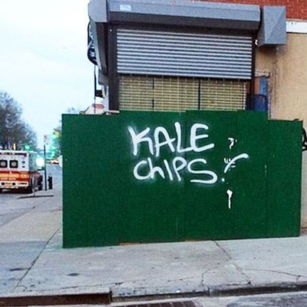 The BritList: The Chicken Pot Pie Cone, Kale Chips Graffiti and More