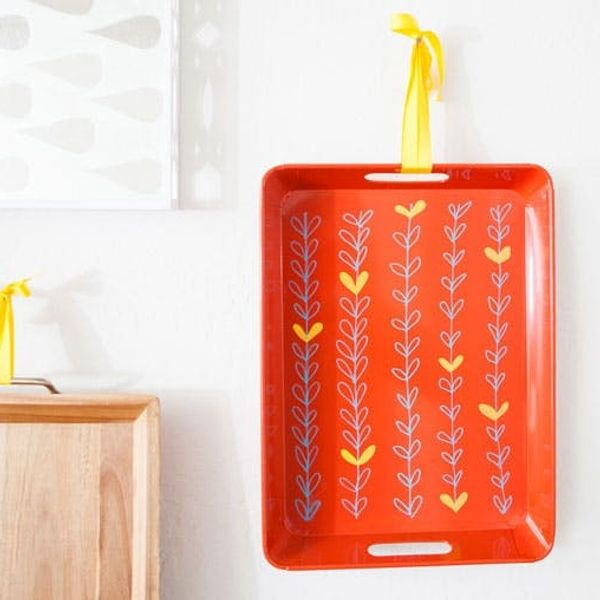 Small Space Hacks: Make Trays That Double as Wall Art
