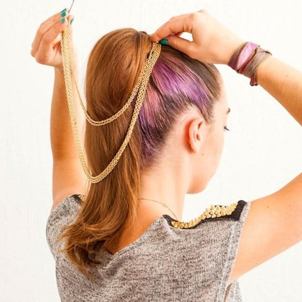 3 Ways to Fancy Up Your Basic Ponytail