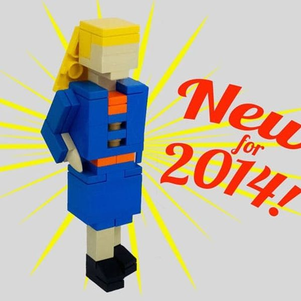 Made Us Look: This Job-Seeker Made Her Resume Out of LEGOs!