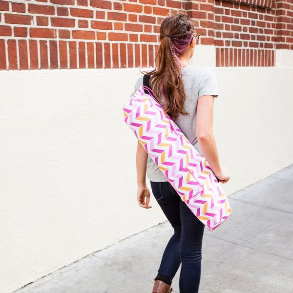 How to Make Your Own Colorful Custom Yoga Bag