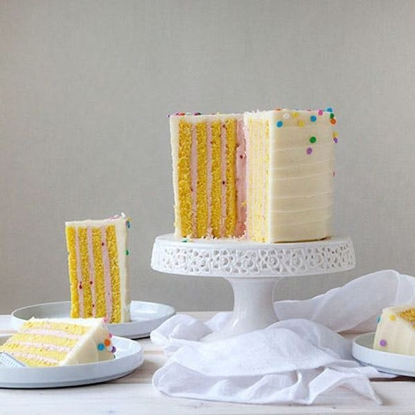No, This Dessert Has NOT Been Photoshopped: Introducing Our Vertical Layer Cake Recipe!