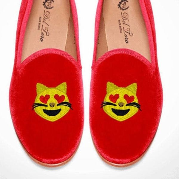 WTF?! Outrageously Expensive Emoji-Themed Shoes (That We Kind of Want)