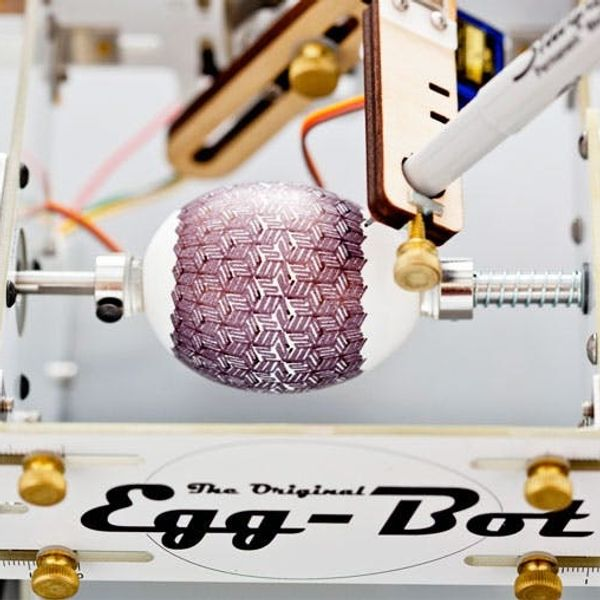 Have You Ever Seen a Robot Decorate an Easter Egg? Meet the Egg-Bot.