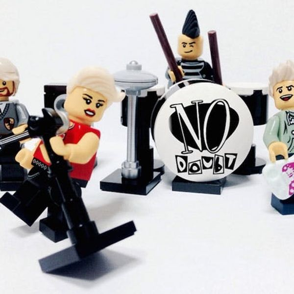 Made Us Look: Iconic Bands Recreated With LEGOs