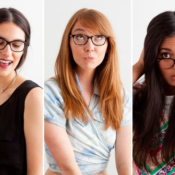 Hey, Four Eyes! We've Got Makeup Knowledge for YOU!