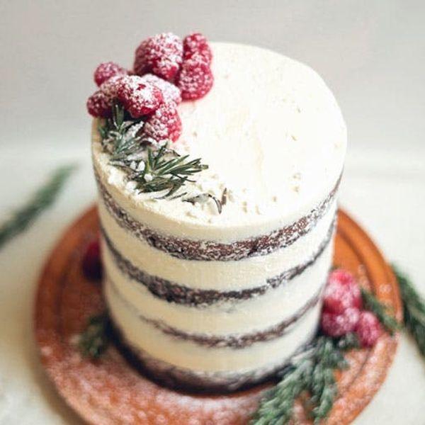 Swoon! Chocolate Tahini Cake with Rosemary Buttercream