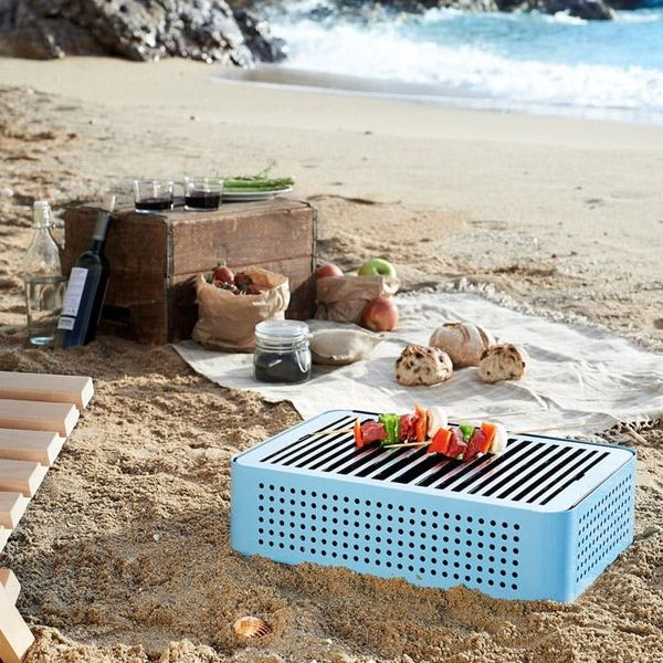 Made Us Look: A Briefcase That's Actually a Portable BBQ