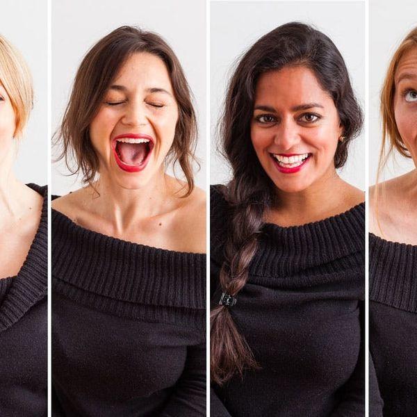 Red Lipstick 101: 4 Different Women + 4 Shades of Lipstick