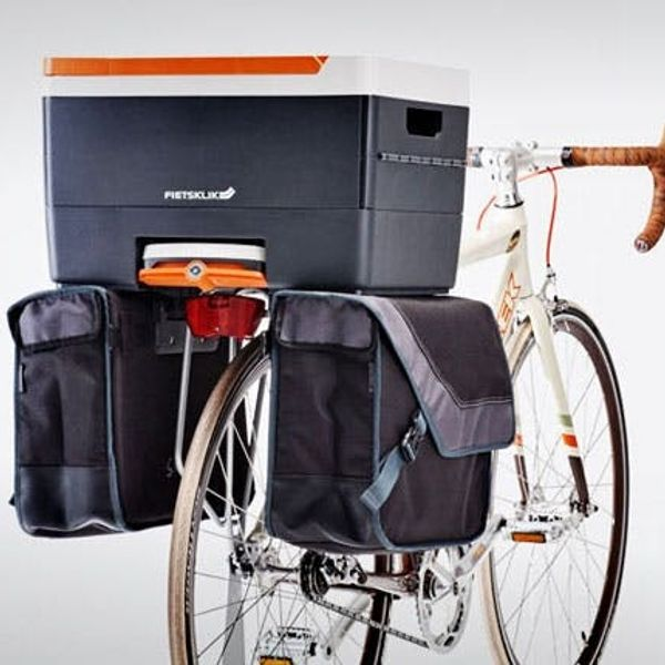 A Cooler, Cargo System, and Lockable Bike Trunk in One