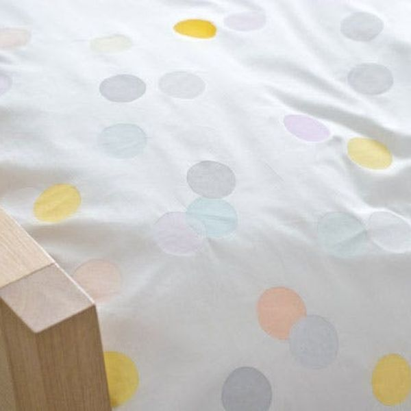 Pretty in Pastels: DIY Confetti-Style Duvet Cover